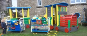 Land train at Ridgeway Playgroup